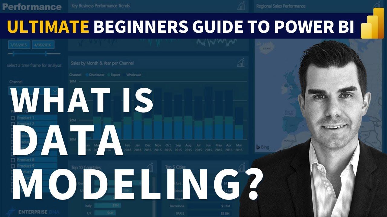 A Beginners Guide Data Modeling