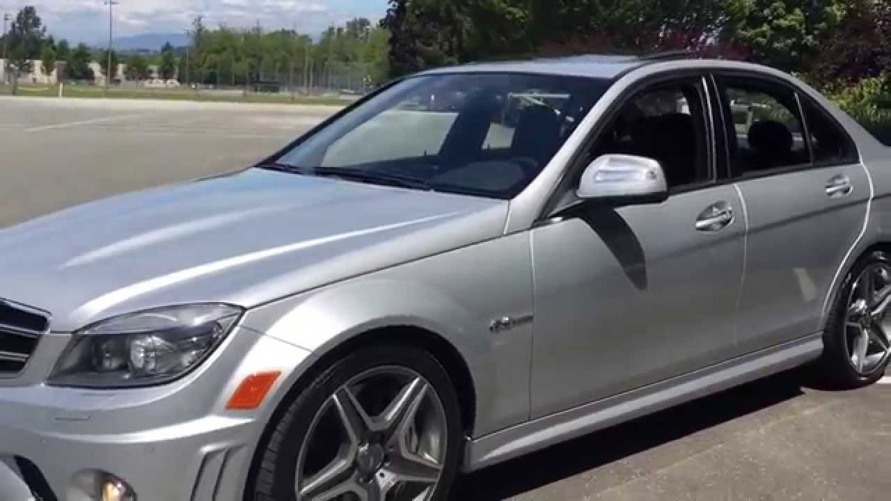 2009 Mercedes Benz C63 Amg For Sale In Langley Bc 38 990 Youtube