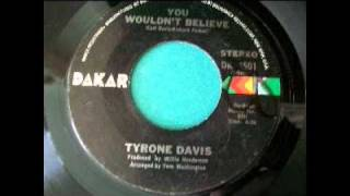 Tyrone Davis - You Wouldn