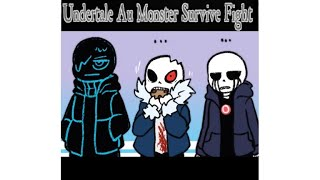 Undertale Au Monster Survive Fight , ALL NEW CHARACTERS!!!!! (roblox)