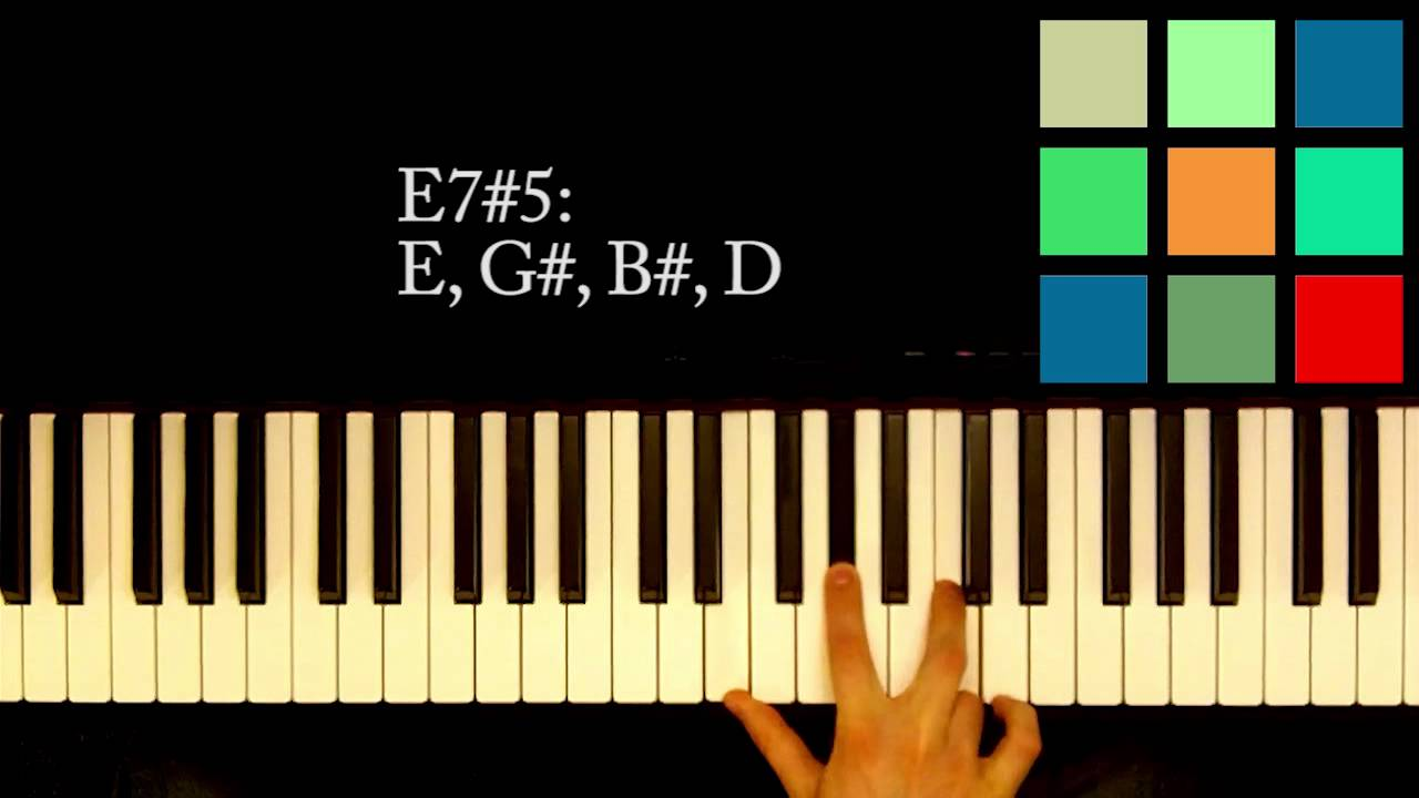 How to play an e75 chord on the piano youtube how to play an e75 chord on the piano hexwebz Gallery