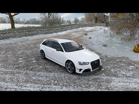 AUDI RS4 AVANT (2013) - 444 HP - TEST DRIVE - Forza Horizon 4 -1080p60FPS