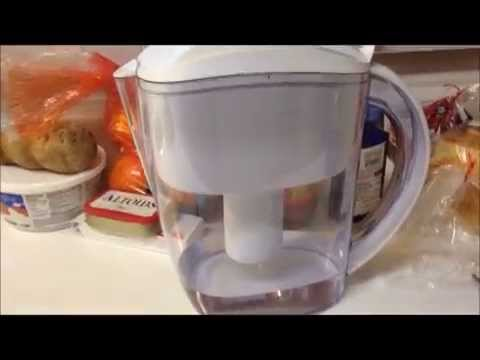 Review For The Well Blue Water Pitcher