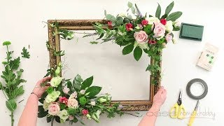 OASIS® Home & Hobby - How-to: Floral Photo Frame screenshot 5