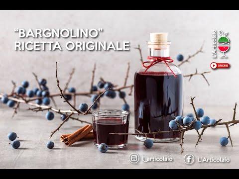 COME FARE IL LIQUORE BARGNOLINO / PRUGNOLO