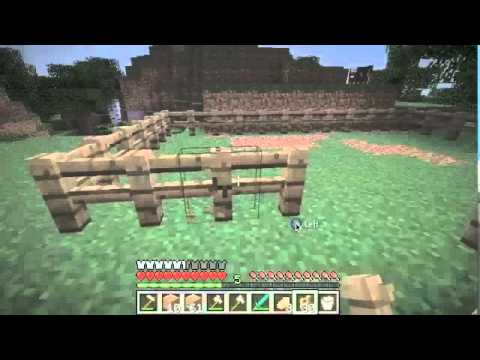Minecraft How To Make Fence And Fence Gate