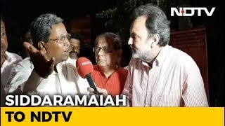 PM Modi's Popularity Has Declined Drastically: Siddaramaiah To NDTV
