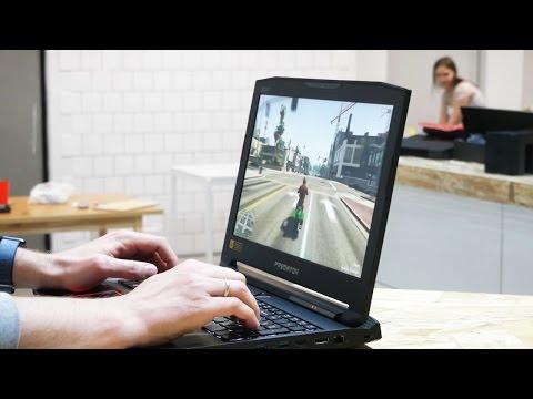 Тестируем игровой ноутбук Acer Predator 15