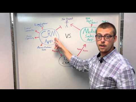 CRM App Vs Mobile Sales App: What's The Difference?
