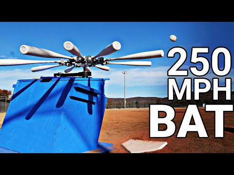 World's Longest Home Run (The 'Mad Batter' Machine) - Smarter Every Day 230