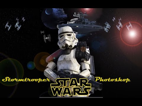 Star Wars - Stormtrooper Photoshop Timelapse. Wallpaper