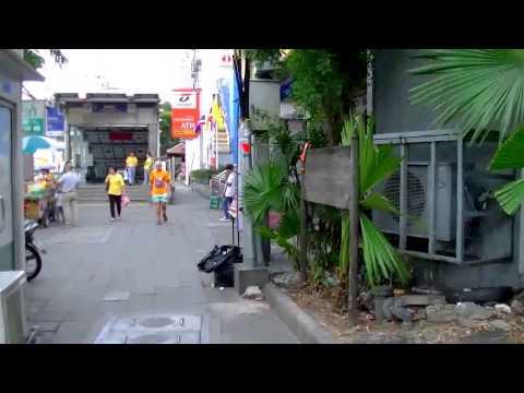 2017 曼谷自由行 - 中國城Shanghai Mansion酒店步行往金佛寺、Hua Lamphong華喃峰火車站หัวลำโพง สถานีรถไฟกรุงเทพ