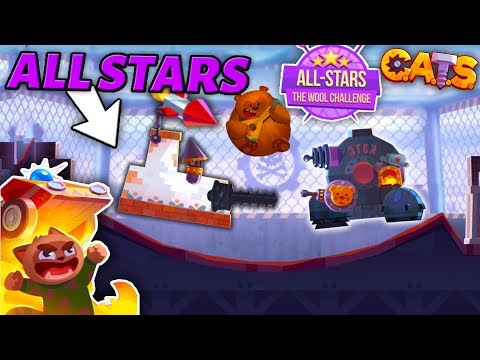 ALL-STARS IS BACK! FUN BUILDS & BEST BATTLES - C.A.T.S: Crash Arena Turbo Stars