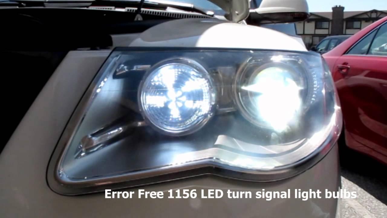 Volkswagen Touareg Install Error Free 1156 Led Turn Signal