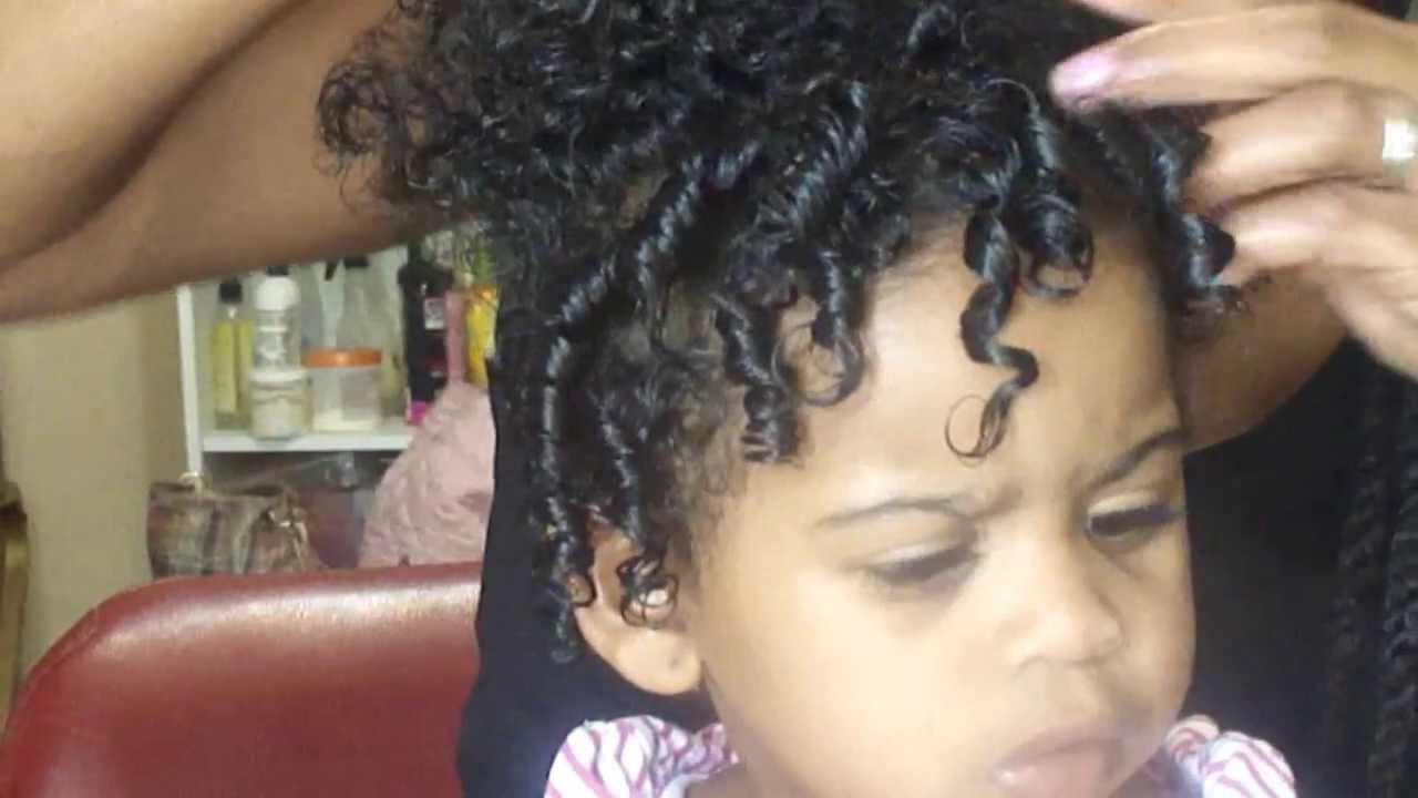 142 Baby Hair Care Easy Baby Coils Youtube