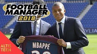 Football Manager 2018 ► Carrière PSG #01 Arrivée au PSG !