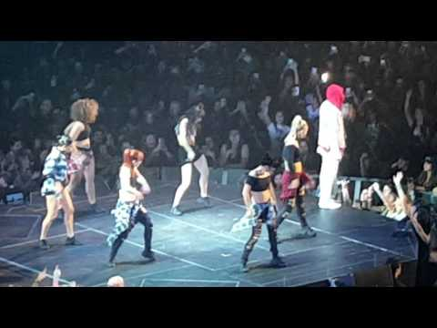 Justin Bieber with Usher, Phillips Arena, Atlanta, Ga.