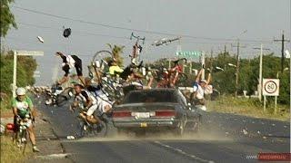 видео Водителей обязали уступать дорогу велосипедистам на пешеходном переходе.