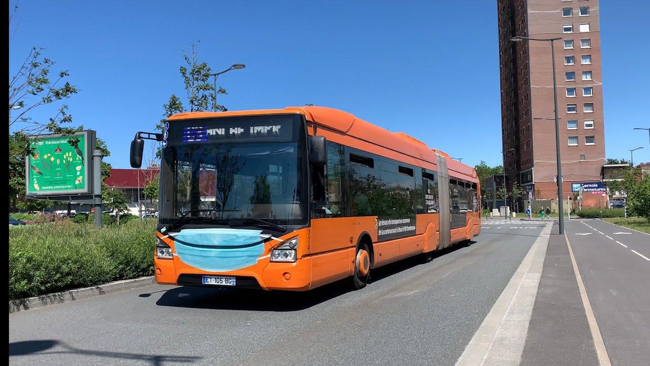 Download Compilation de passages de bus sur le réseau   DK'Bus (4K)