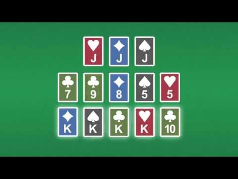 How to Play Open Face Chinese Poker