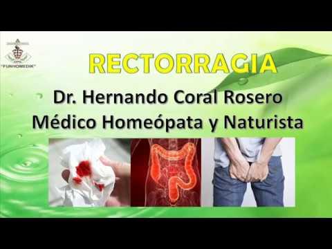RECTORRAGIA-HEMORRAGIA QUE CONSISTE EN LA...