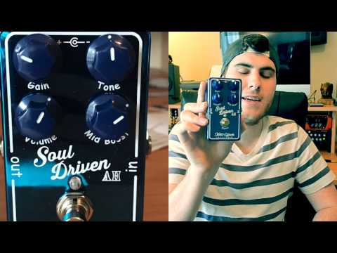 Xotic Soul Driven AH Overdrive Demo by Daniel Newell