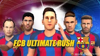 Fc Barcelona Ultimate Rush Full Gameplay Walkthrough