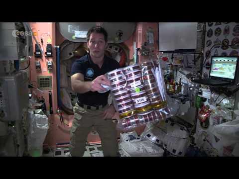 Thomas Pesquet's space food