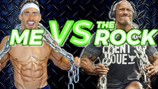 I ATTEMPTED THE ROCK'S WORKOUT (Here's What Happened...)
