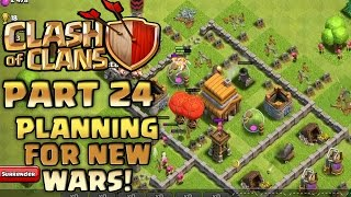 Clash of Clans Walkthrough: Part 24 - Planning For New Wars! - PC Gameplay Playthrough - GPV247