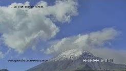 Transmisión del Volcán Popocatépetl 17 de junio 2020