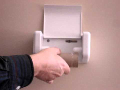 EZLoad Toilet Paper Holder YouTube - Japanese toilet paper holder