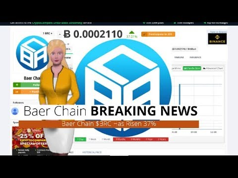 Cryptocurrency Baer Chain $BRC Soars 37% In the Past Day 4