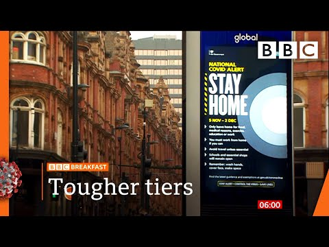 Covid: PM sets out 'tougher' post-lockdown tiers for England 🔴 @BBC News live - BBC