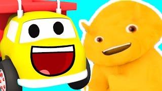 Nauczmy się liczby, kolory, litery, kształty z Ethanem śmieciarka i Dino | Bajka edukacyjna