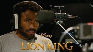 Gambar cover THE LION KING: Donald Glover Behind the Scenes with Beyonce | Exclusive Interview