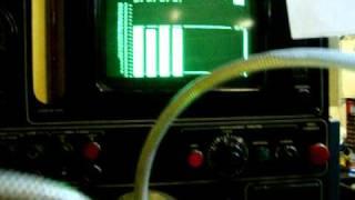Essai pompe injection Cav DPA banc Hartridge HA400