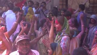 Holi @ Sri Sri Radha Damodar Temple - Vrindavan