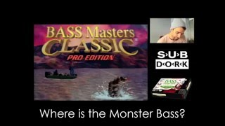 Bass Masters Classic: Pro Edition [SNES] Where is the Monster Bass?