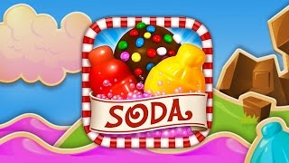 Candy Crush Soda Saga - King Level 1-2 Gameplay Walkthrough
