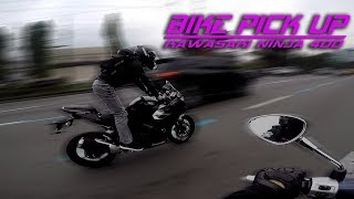 Gambar cover Picking Up My 2018 Kawasaki Ninja 400 + Ride on Vespa