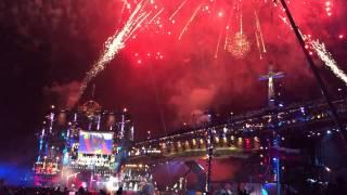Байк шоу 2015 салют кульминация Крым Севастополь