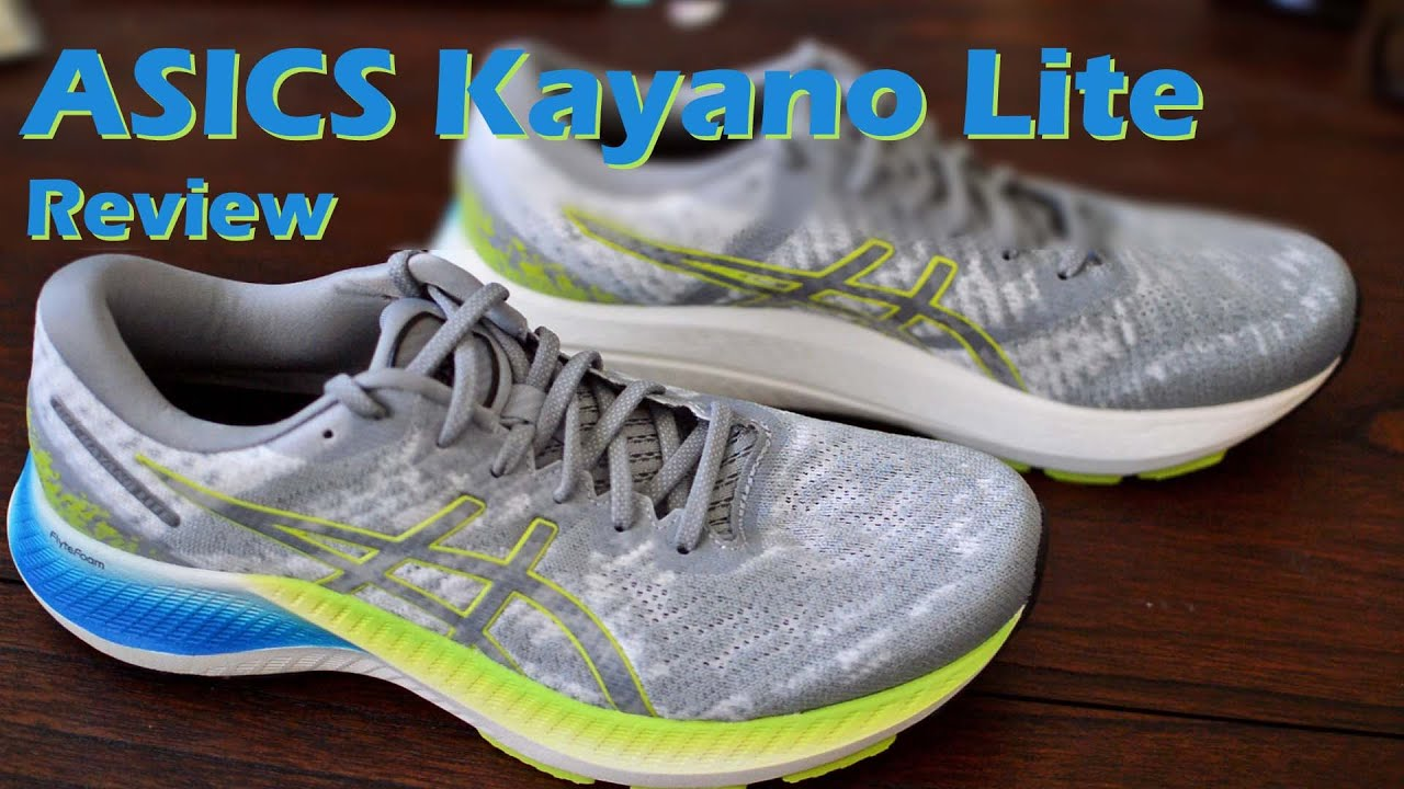 ASICS Kayano Lite Review