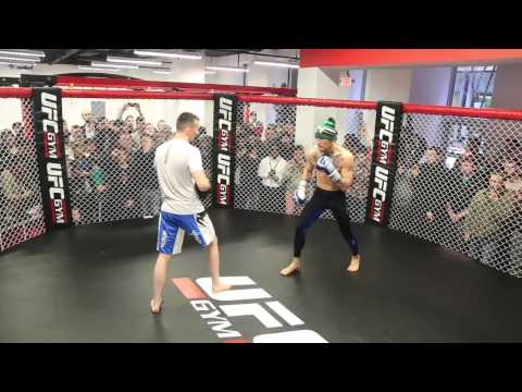Thumbnail: Conor McGregor's epic, avant-garde open workout in Boston