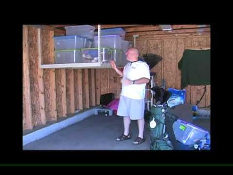 Garage Loft   Overhead Garage Storage System