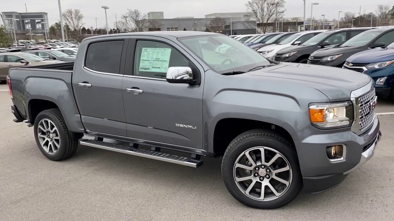 2020 GMC Canyon Denali Review