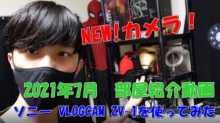 【デスク紹介】新しいカメラ買ったし2021年部屋紹介でもやってみます【ソニー VLOGCAM ZV-1】