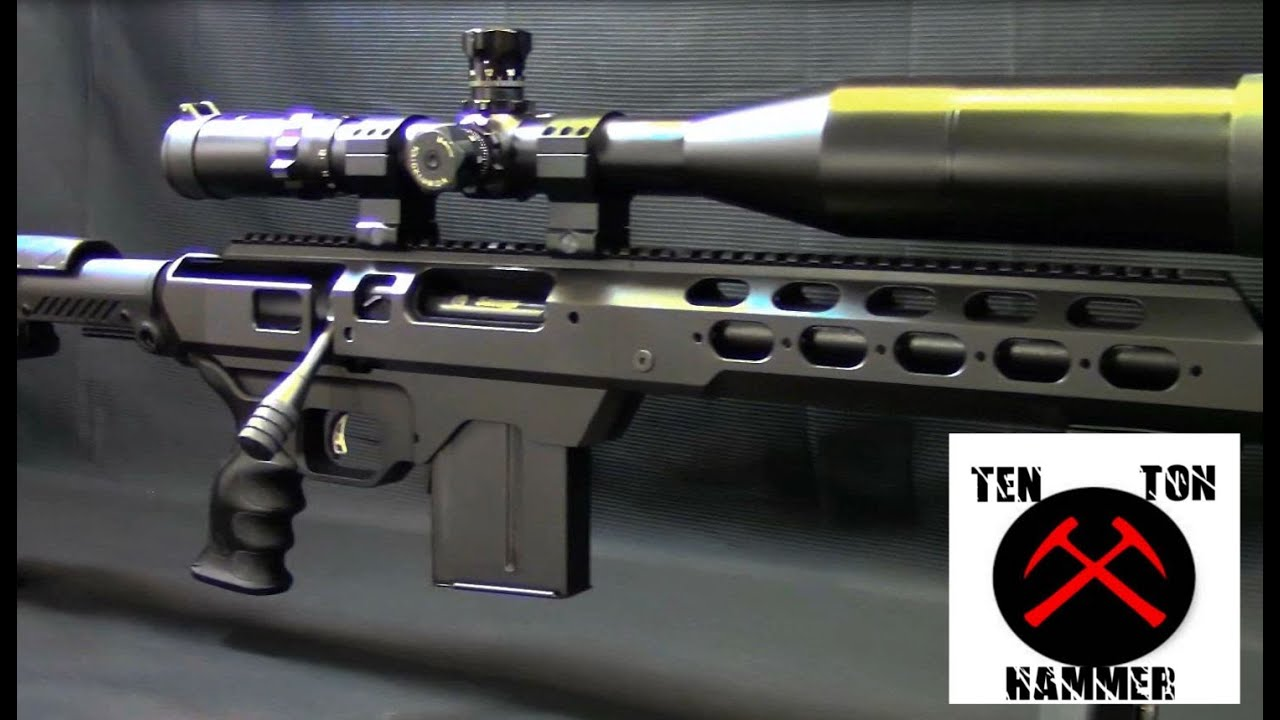 Tactical Savage Sniper Rifle, MDT Tac 21 Chassis, Command Arms Stock