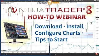 How to Use NinjaTrader 8 - Complete Beginner's Tutorial / Guide for Traders