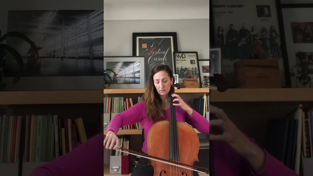 "Artwork representing ""Sarabande"" performed by Úna O'Riordan (Mary Ann and Robert Gorlin Chair)"